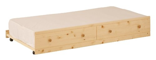 Canwood Trundle Bed - Natural (Wood Trundle Bed compare prices)