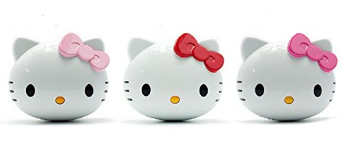 3D Hello Kitty Iphone Samsung Chargers 5S 4S S3 Ipad tablet (Portable External Universal Chargers) 8000MAH (Red)