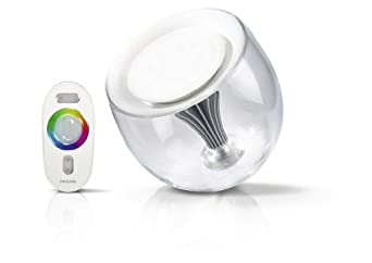 philips livingcolors clear lumi 232 re d ambiance avec le luminaire living colors lcs5001