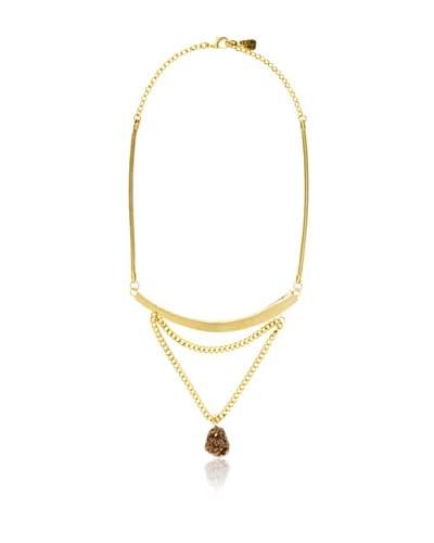 Yochi Drop Druzy Necklace