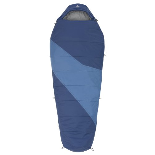 Kelty Ignite 20-Degree Sleeping Bag, Blue, 6-Feet