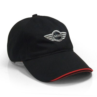 MINI Cooper Logo Black Baseball Cap