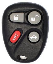 2004 04 Chevrolet Impala Keyless Entry Remote - 4 Button