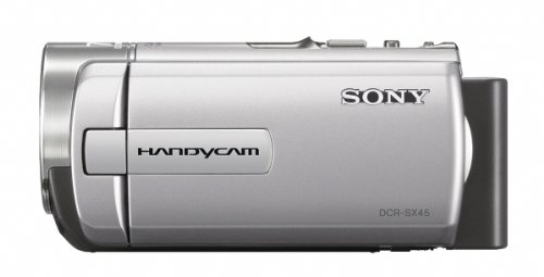 Sony DCR-SX45 Handycam Camcorder (Silver)
