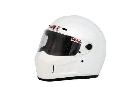 SIMPSON(シンプソン) バイクヘルメット フルフェイス SUPER BANDIT 13 ホワイト 59cm