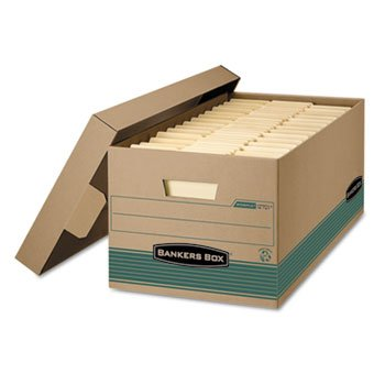 Bankers Box Corrugated Cardboard Magazine File 4 X 11 X 12 3//4 Wood Grain 12//CT