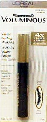 ロレアル ボリューミナスマスカラ カーブブラシ ブラックブラウン 8.3ml