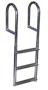 Buy Dock Edge Welded Fixed Wide Step Dock Ladder by Dock Edge