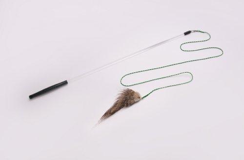 picture Neko Flies Foxifur Kittenator (Fancy Mouse) with Rod