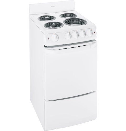 """Hotpoint Ra720Kwh 20"""" White Electric Coil Range front-489252"""