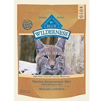 Image of Blue Buffalo Wilderness Weight Control Chicken Recipe Adult Dry Cat Food