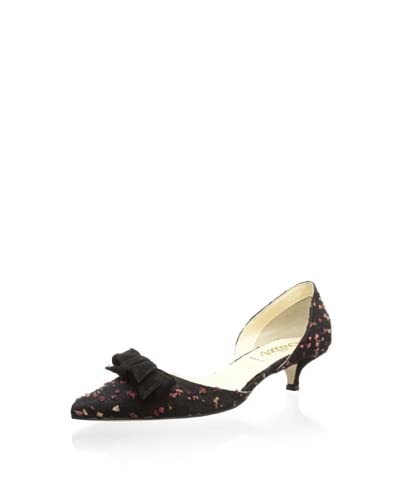 Butter Women's Devyn Kitten Heel  [Brown/Black]