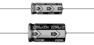 Aluminum Electrolytic Capacitors - Leaded 10volts 33uF 5x12 20% (5 pieces) 10 pcs electrolytic capacitors high frequency 25v 1000uf 10x20mm aluminum electrolytic capacitor