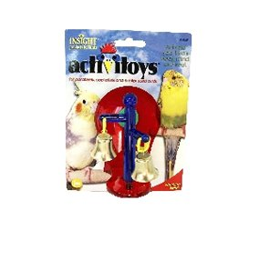 Cheap JW Pet Company 080-31043 JW Pet Company Insight Spinning Bells Small Bird Toy Assorted Colors (080-31043)