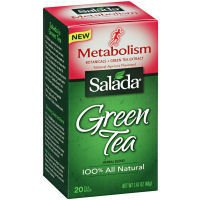 Salada Metabolism Green Tea Case Of 6