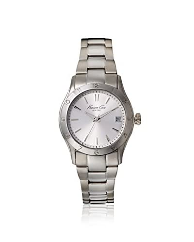 Kenneth Cole New York Women's KC4932 Modern Core Triple Silver Ladies Bracelet Watch