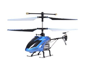 4-Channel Tough Plastic Infrared Control Helicopter with Gyroscope