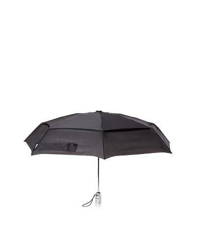 London Fog Auto Open-Close Umbrella  [Black]