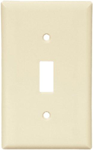 Single Gang Nylon Switch Wall Plate-LT ALM SWITCH WALLPLATE