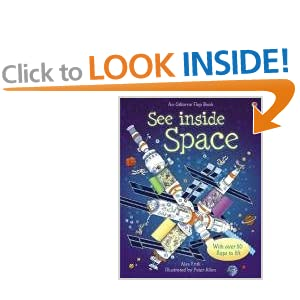 See Inside Space (See Inside): With over 50 flaps to lift & a little book of Star Maps (Usborne See Inside)