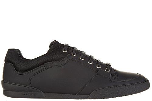 Dior scarpe sneakers uomo in pelle nuove nero EU 42 3SN131VZX