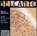 Thomastik Belcanto 3/4 String Bass String Set - Medium Gauge