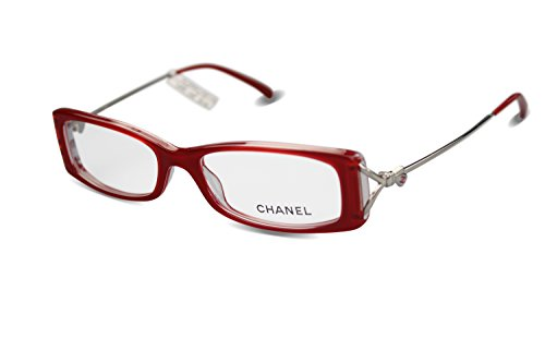 chanel damen brille in rot 3180 col 1189 53 16 135. Black Bedroom Furniture Sets. Home Design Ideas