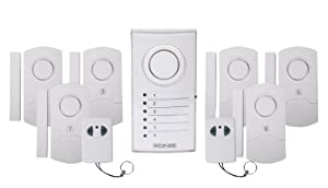 K nig sistema di allarme senza fili fai da te - Allarme casa senza fili fai da te ...