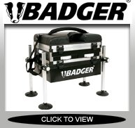 BADGER 3 DRAW FISHING SEAT BOX