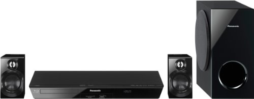 Panasonic SC-BTT100EGK Home Theatre Blu-ray 3D, 2.1 Canali, Nero