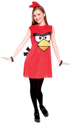 Red Angry Bird Costume Dress
