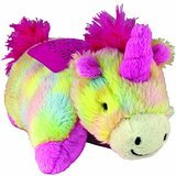 Pillow Pets Dream Lites Mini - Rainbow Unicorn & Pillow Pets Dream Lites Mini - Hot Pink Ladybug (2 pack)