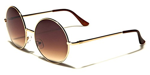 Retro Vintage 70S Oversized Round Frame Sunglasses