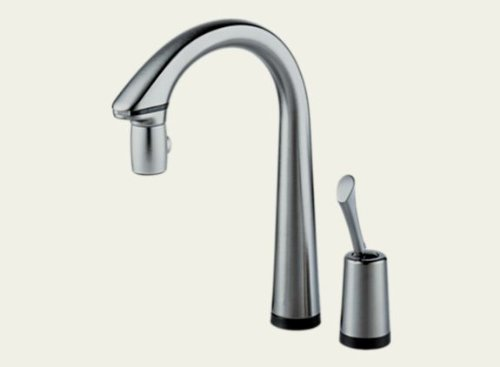 Brizo 64900-SS Pascal Single Handle Pull-Down Kitchen Faucet with Hands-Free And Smarttouch(R) Technology - Stainless