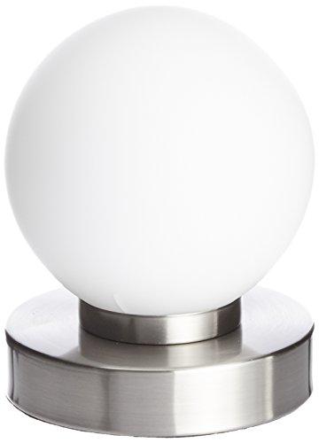 Reality-Kugellampe-Tischleuchte-TouchMe-Dimmer-Nickel-matt-wei