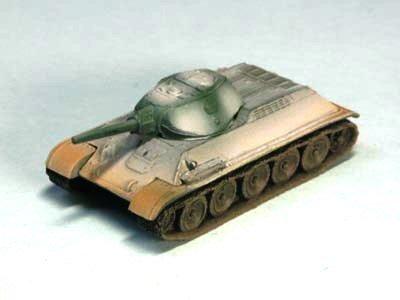 ソビエト軍 T34 中戦車 76 1941年型 冬季迷彩(ホワイト上塗り)