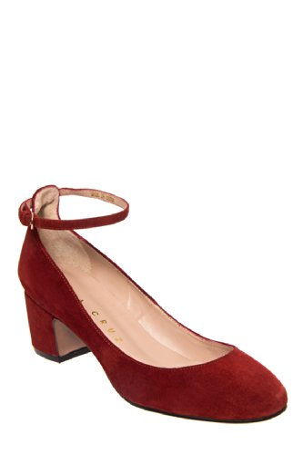 Lola Cruz 251z30bk Low Heel Round Toe Ankle Strap Shoe