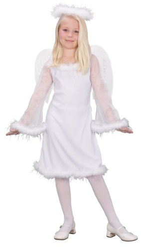 Fun World Kids Heaven Sent Girls Angel Costume