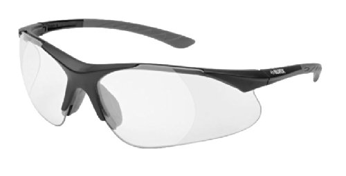 Elvex® Rx-500C-1.5 Full-lens Ballistic Rated Magnifier in a Wraparound Polycarbonate Lens! 1.5 Magnification clear lens