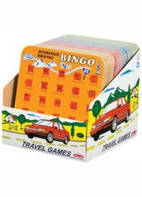 Auto Bingo - SET of TWO Assorted Styles (Travel Auto Bingo compare prices)