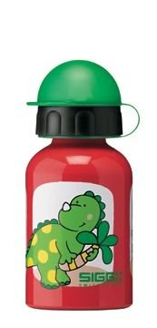Sigg Baby Water Bottle (0.3-Liters, Hey Dino, Red) front-663137
