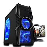 Microtel Computer® TI9081 Liquid Cooling Gaming Desktop Computer with Intel 3.5GHz i7 3770K Processor, 16 GB DDR3/1333, 2TB Hard Drive 7200RPM, 24X DVDRW, Nvidia 550 GTX TI 1GB GDDR5 Video Card, Microsoft Windows 7 Home Premium Full Version CD – 64 bit + WiFi. For Nvidia 650 GTX SEE SKU AMTI9098