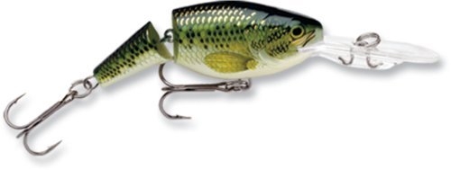 Rapala jointed shad rap 04 fishing lure baby bass size 1 5 for Baby bass fish