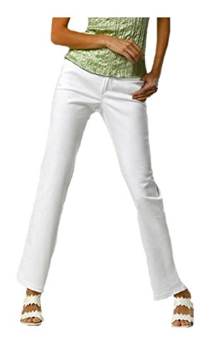 Alba Moda -  Jeans  - Basic - Donna bianco W36