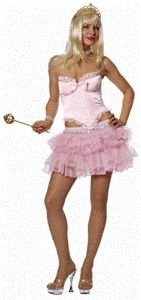 Fairytale Fantasy Pink Adult Halloween Costume Size Small 4-6
