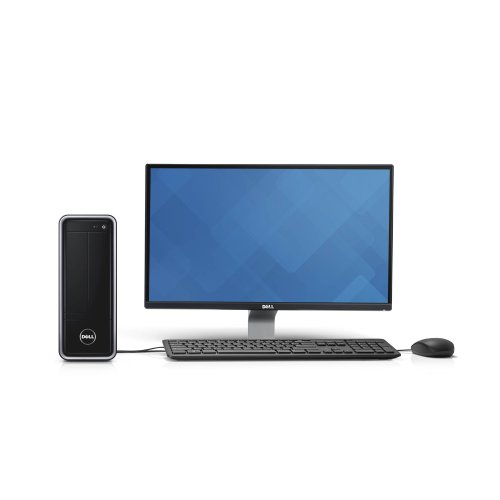 Dell Inspiron I3647-3848Bk Desktop & E2014H Monitor Package front-841458