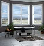 Select Blinds Faux Wood Standard Folding Shutters 36x52