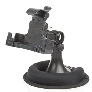 Universal Car Mount Holder for GPS / PDA / Cell phone / Ipod / MP3 Player Mounting on Windshield, Dash, or AC Vent by Gizmo Dorks