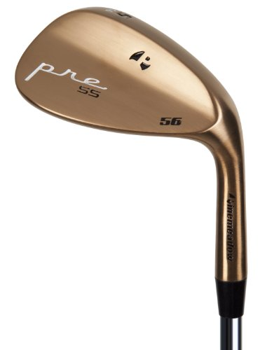Pinemeadow Golf 11805 Pre Bronze Wedge, Right Hand, Steel, Regular, 52-Degree