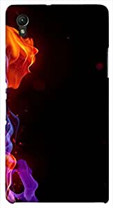 Outstanding multicolor printed protective REBEL mobile back cover for Sony Xperia Z1 C6902/L39h D.No.N-L-17907-S39